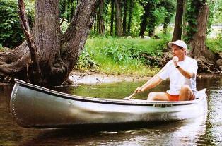 Michicraft T-18 Aluminum Canoe #T18